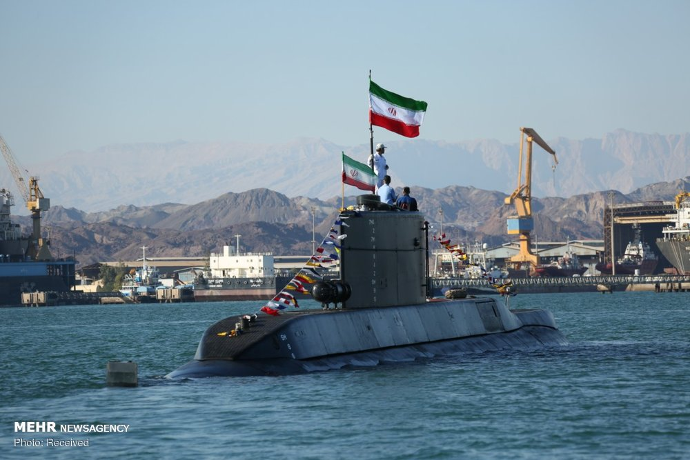 Iran unveils new submarine armed with cruise missiles