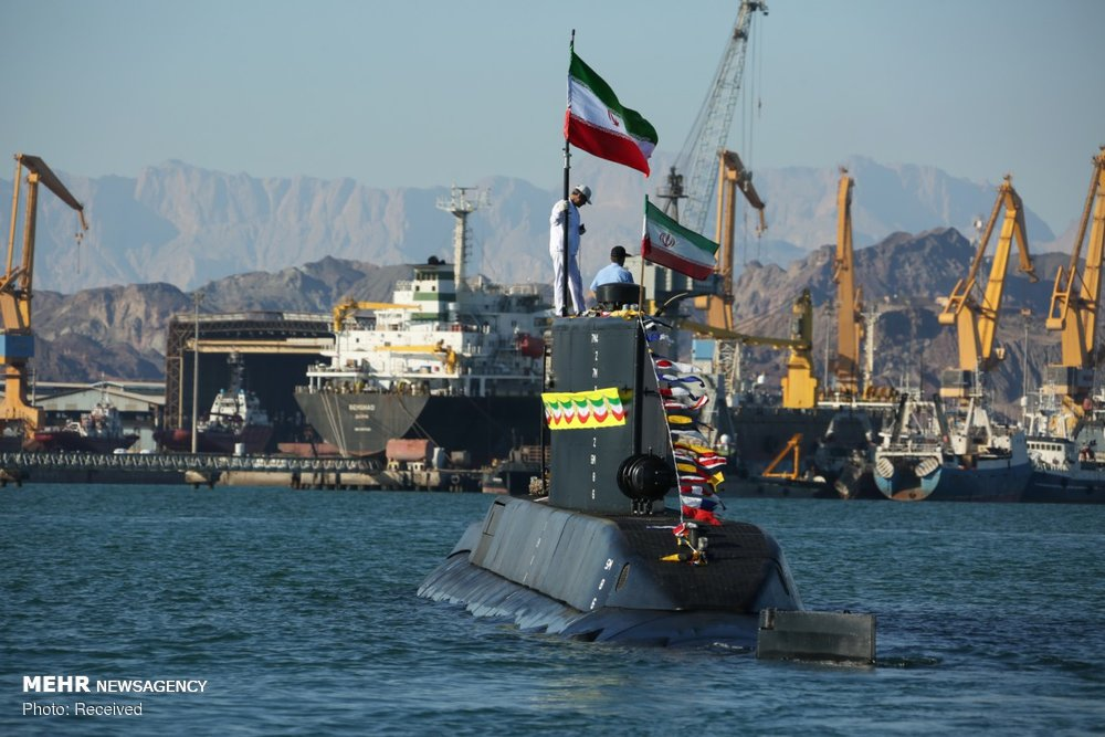 Iran launches cruise missile equipped Fateh submarine