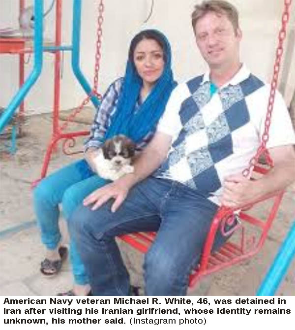 U.S. Navy Veteran Has Been Imprisoned In Iran Since July