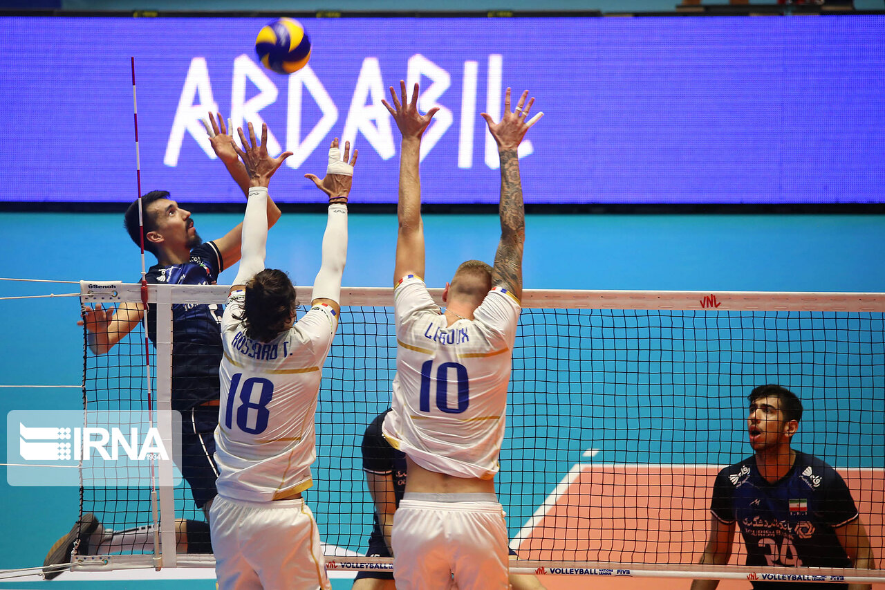 FIVB Volleyball Nations League 2019: Iran falls to France in Ardabil