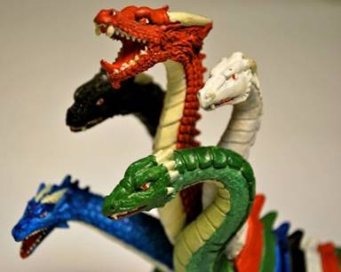 Image result for multi headed dragon